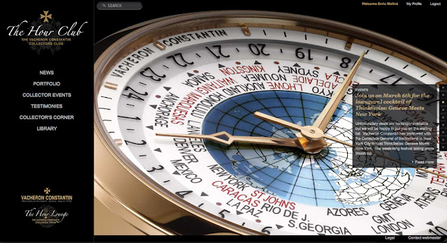 "Vacheron Constantin crea ""The Hour Club"""