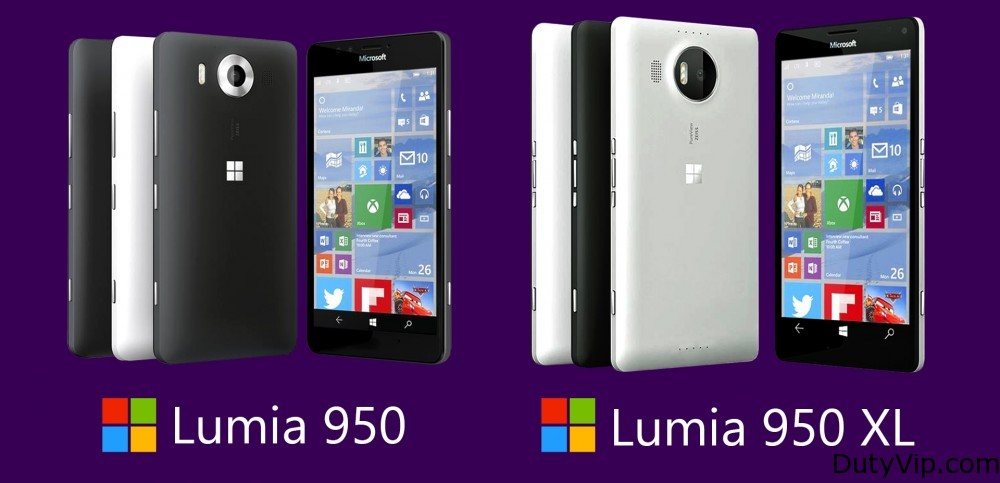 Nokia Lumia 950 y 950 XL